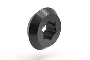 PCD diamond scribing wheels' hole