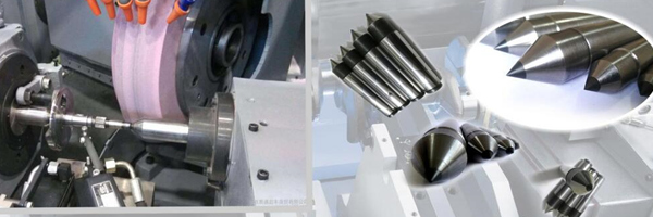 PCD Dead Center for High Precision Shaft Machining